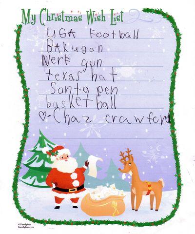 Christmaslistc